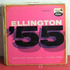 Discos de vinilo: DUKE ELLINGTON AND HIS FAMOUS ORCHESTRA ( STOMPIN' AT THE SAVOY - IN THE MOOD ) USA-1956 SINGLE45. Lote 7403147