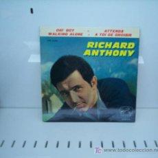 Discos de vinilo: RICHARD ANTHONY - EP AÑO 1964. Lote 16605334