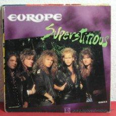 Discos de vinilo: EUROPE ( SUPERSTITIONS - LIGHTS & SHADOWS ) 1988 - LONDON SINGLE45 EPIC RECORDS. Lote 7413033