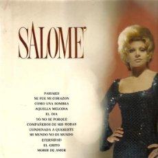 Discos de vinilo: SALOME LP SELLO BELTER AÑO 1972. Lote 7413768