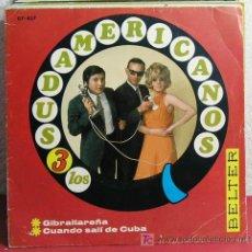 Discos de vinilo: LOS 3 SUDAMERICANOS (GIBRALTAREÑA - CUANDO SALI DE CUBA ) ESPAÑA-1967 SINGLE45 BELTER. Lote 7437308