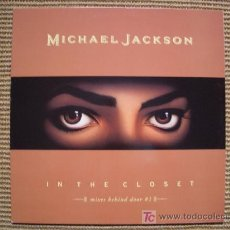 Discos de vinilo: MICHAEL JACKSON MAXI SINGLE `IN THE CLOSET´ NUEVO. Lote 27297648