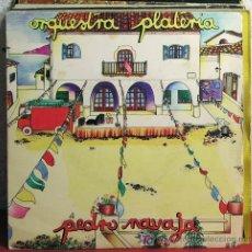 Discos de vinilo: ORQUESTA PLATERIA ( PEDRO NAVAJA - ESTREMECETE ) MADRID-1980 SINGLE45 ARIOLA. Lote 7453051