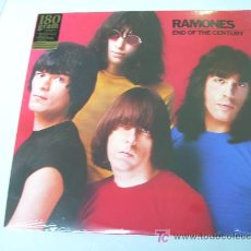 Discos de vinilo: LP RAMONES END OF THE CENTURY VINILO DE 180 G. Lote 22502027