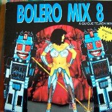 Discos de vinilo: LP - BOLERO MIX 8 - A QUIQUE TEJADA MIX - DOBLE DISCO, ORIGINAL ESPAÑOL, BLANCO Y NEGRO MUSIC 1991. Lote 7474975