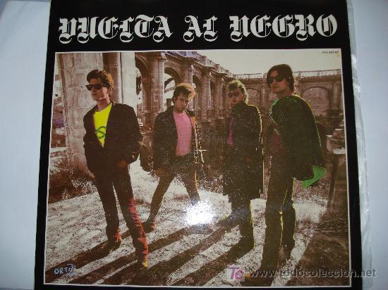 VUELTA AL NEGRO / EP RARO DE 12´´ GRABADO EN LOS ESTUDIOS - PAÑOLETA RECORDS- DE SEVILLA , 1987 (Música - Discos de Vinilo - EPs - Grupos Españoles de los 70 y 80)