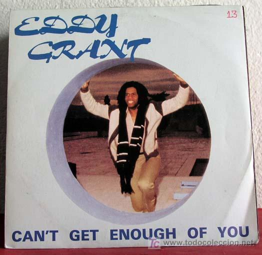 EDDY GRANT ( CAN'T GET ENOUGH OF YOU - NEIGHBOUR, NEIGHBOUR ) FRANCE-1981 SINGLE45 ICE (Música - Discos - Singles Vinilo - Reggae - Ska)