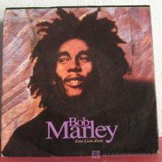Disques de vinyle: BOB MARLEY - IRON LION ZION - SMILE JAMAICA HOLANDA-1992 SINGLE. Lote 12523431