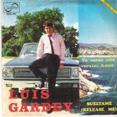 Discos de vinilo: LUIS GARDEY - YA VERAS ESTE VERANO , AMOR / SUELTAME *** PROMOCIONAL ***1967. Lote 12390555