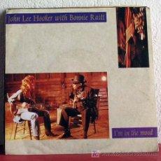 Discos de vinilo: JOHN LEE HOOKER WITH BONNIE RAITT ( I'M IN THE MOOD - MY DREAM ) GERMANY-1989 SINGLE45 SILVERTONE. Lote 7508983
