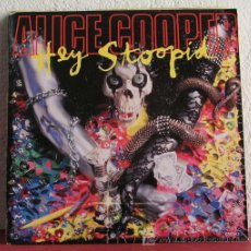 Discos de vinilo: ALICE COOPER ( HEY STOOPID - WIND-UP TOY ) ENGLAND-1991 SINGLE45 EPIC. Lote 7509032