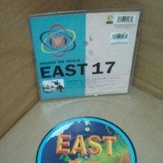 Discos de vinilo: DISCO SINGLE PICTURE - EAST 17 ARROUND THE WORLD - VINILO. Lote 22274118