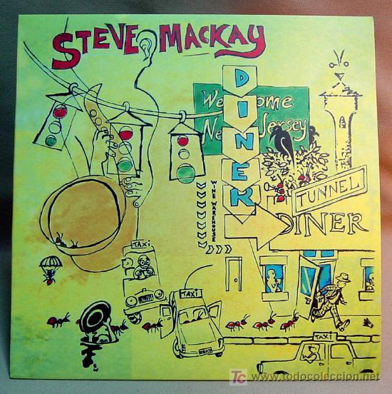 STEVE MACKAY & THE RADON ENSEMBLE QBICO 49 TUNNEL DINER (Música - Discos - LP Vinilo - Jazz, Jazz-Rock, Blues y R&B)