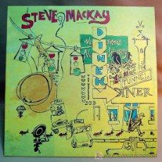 Discos de vinilo: STEVE MACKAY & THE RADON ENSEMBLE QBICO 49 TUNNEL DINER. Lote 12792021