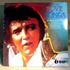 Discos de vinilo: ELVIS PRESLEY LOVE SONGS K-TEL NE 1062 EDITADO 1979. Lote 14158890