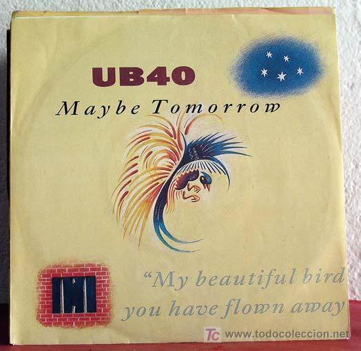 UB40 ( MAYBE TOMORROW - DREAD, DREAD TIME ) GERMANY-1987 SINGLE45 VIRGIN (Música - Discos - Singles Vinilo - Reggae - Ska)