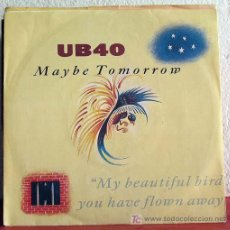 Discos de vinilo: UB40 ( MAYBE TOMORROW - DREAD, DREAD TIME ) GERMANY-1987 SINGLE45 VIRGIN. Lote 7518644