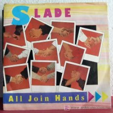 Discos de vinilo: SLADE ( ALL JOIN HANDS - HERE'S TO... ) ENGLAND-1984 SINGLE45 RCA. Lote 7518676