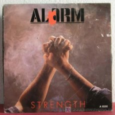Discos de vinilo: ALARM ( STRENGTH - MAJORITY ) ENGLAND-1985 SINGLE 45 INTERNATIONAL RECORD. Lote 7519718
