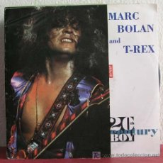 Discos de vinilo: T-REX AND MARC BOLAN ( 20TH CENTURY BOY - MIDNIGHT - THE GROOVER ) ENGLAND-1991 SINGLE45 MEGA. Lote 7519743