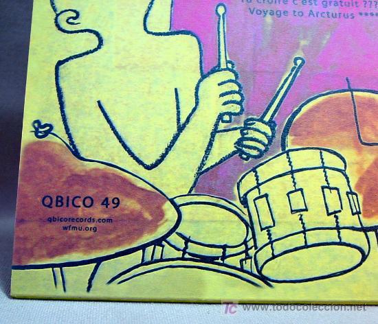 Discos de vinilo: STEVE MACKAY & THE RADON ENSEMBLE QBICO 49 TUNNEL DINER - Foto 4 - 12792021