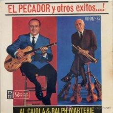 Discos de vinilo - AL CAIOLA & RALPH MARTERIE / El pecador / El relicario / La paloma / Tango azul (EP 62) - 18635666