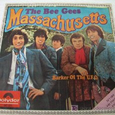 Discos de vinilo: SINGLE THE BEE GEES MASSACHUSETTS SPANISH 1967 . Lote 12573521