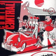 Discos de vinilo: COMITE CENTRAL. VINILO MAXI EP 45 RPM. MONTADOS EN EL DOLAR. JUSTINE AÑO 1987. Lote 27441515