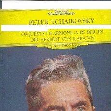 Discos de vinilo: TCHAIKOVSKY..SINFONIA..LP KARAJAN..DEUTSCHE GRAMMOPHON 11 39 017 1977 SPA. Lote 27456680