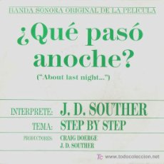 Discos de vinilo: BSO-¿QUE PASO ANOCHE?-STEP BY STEP-PROMOCIONAL. Lote 7542145