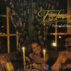 Discos de vinilo: LP TRIGO LIMPIO - ENTRAÑABLEMENTE. Lote 17632581
