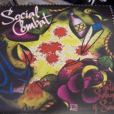 Discos de vinilo: SOCIAL COMBAT TINTA SANGRE Y SUDOR SUENA COMO COCK SPARRER CONDEMNED 84 4 SKINS ROSE TATTOO . Lote 7546434