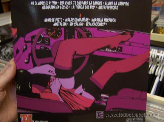 Discos de vinilo: Extension 333 Esa chica te chupara la sangre vinilo similar a ramones hellacopters Devil Records - Foto 2 - 7550920