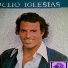 Discos de vinilo: LP DE JULIO IGLESAS A MIS 33 AÑOS 1980 DE CBS OFERTA 7 LP JULIO 28 EUROS. Lote 26737899