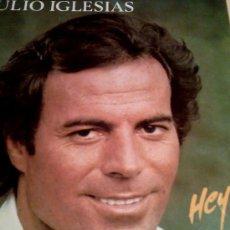 Discos de vinilo: LP JULIO IGLESIAS HEY DE CBS 1980 OFERTA 7 LP JULIO 28 EUROS. Lote 26704006