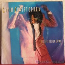 Discos de vinilo: GAVIN CHRISTOPHER ( ONE STEP CLOSER TO YOU 2 VERSIONES ) HOLANDA-1986 SINGLE45 MANHATTAN. Lote 7575862
