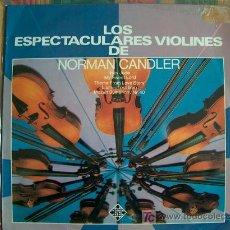 Discos de vinilo - lp - norman candler - los espectaculares violines - original español, telefunken 1975 - 7581346