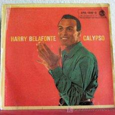 Discos de vinilo: HARRY BELAFONTE 'CALYPSO' ( BROWN SKIN GIRL - DOLLY DAWN - DAY O - I DO ADORE HER ) GERMANY-1956 . Lote 7594188
