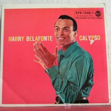 Discos de vinilo: HARRY BELAFONTE 'CALYPSO' (CU CU RU CU PALOMA - HAVA NEGEELA - WHEN THE SAINTS GO MARCHING IN)1956. Lote 7594429