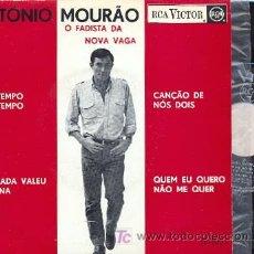 Discos de vinilo: EP. ANTONIO MOURAO; DA TEMPO AO TEMPO + DE NADA VELU A PENA + CANÇAO DE NOS DOIS + 1. Lote 11852319