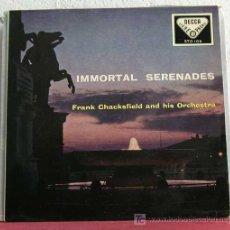 Disques de vinyle: FRANK CHACHSFIELD AN HIS ORCHESTRA 'IMMORTAL SRENADES'(TOSELLI - TCHAIKOOVSKY - MASCAGNI - DRIGO). Lote 7606599
