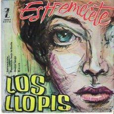 Discos de vinilo: LOS LLOPIS - ESTREMECETE + 3 EP ***EN ZAFIRO 1960. Lote 11521331
