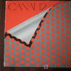 Discos de vinilo: CANAL 12 (PDI-1986) NEW WAVE LP + INSERT. Lote 25263301
