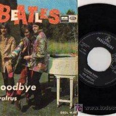 Discos de vinilo: SINGLE THE BEATLES HELLO GOODBYE - I AM THE WALRUS. Lote 98474443