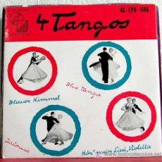 Discos de vinilo: DAS ORCHESTER CARL DE GROOF ( 4 TANGOS ) EP45. Lote 7619861