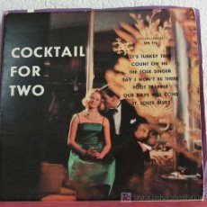 Discos de vinilo: THE TIMEBEATS ORCHESTRA 'COCKTAIL FOR TWO' (OUR DAY WILL COME - SAY I WON'T BE THERE -...) EP33. Lote 7619951