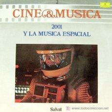 Disques de vinyle: BSO 2001 Y LA MUSICA ESPACIAL - CINE Y MUSICA 2 LP 1987. Lote 7625143