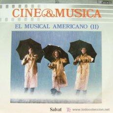 Disques de vinyle: BSO EL MUSICAL AMERICANO II-CINE Y MUSICA 16- SINGIN' IN THE RAIN, THE BAND WAGON ETC.. LP 1987. Lote 45826373