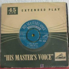 Discos de vinilo: BUNNY BERIGAN & ORCHESTRA (PEG O' MY HEART - I CRIED FOR YOU - AIN'T SHE SWEET - JAZZ ME BLUES) EP45. Lote 7628965