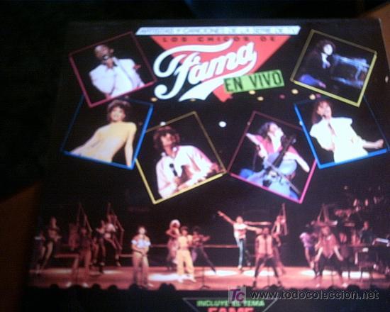 LOS CHICOS DE FAMA - EN VIVO (Música - Discos - LP Vinilo - Otros Festivales de la Canción)